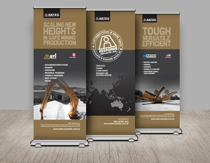 ASTEC Banners