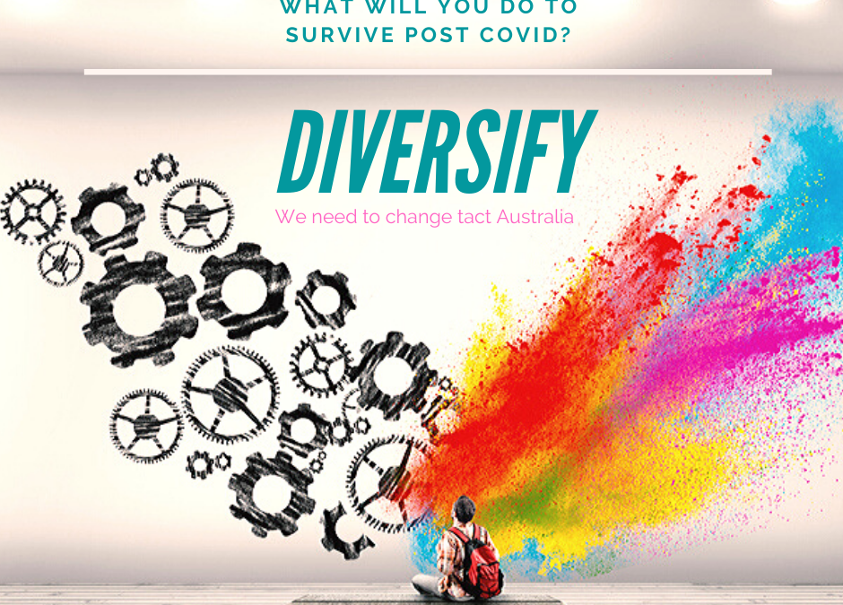 Diversify and help Australia thrive